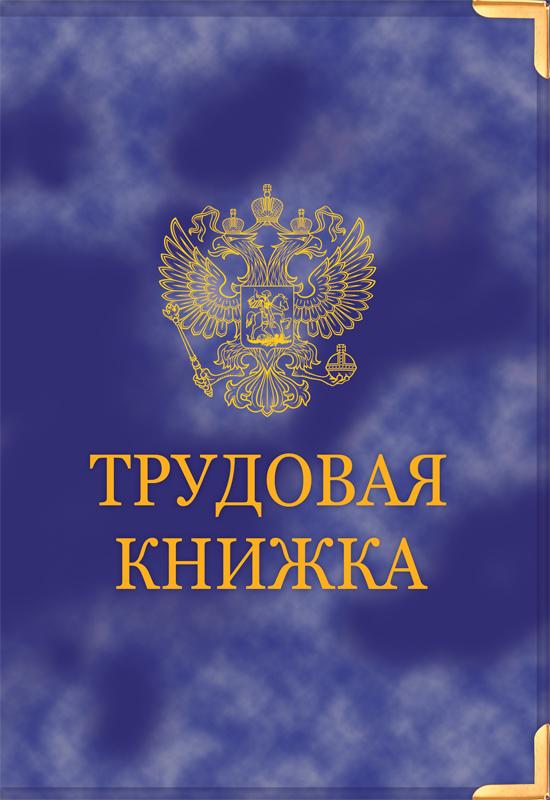 Обложка на трудовую книжку старого образца - купить в «Кадры